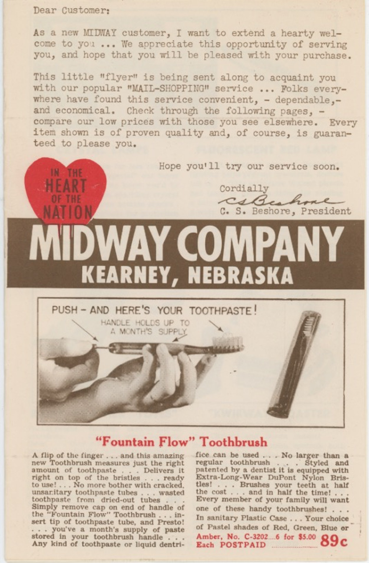 Midway Company Catalog