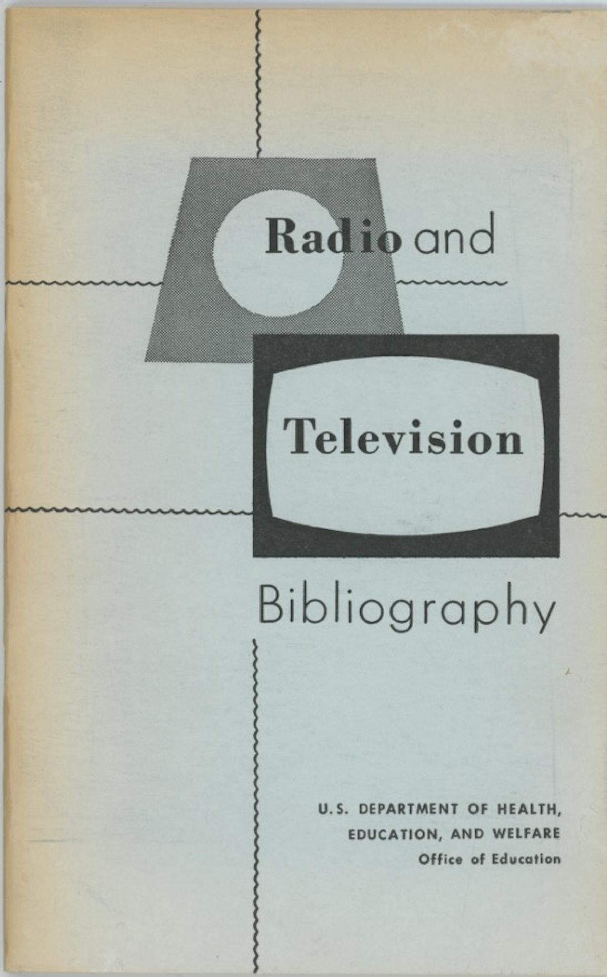 Radio and Television Bibliography