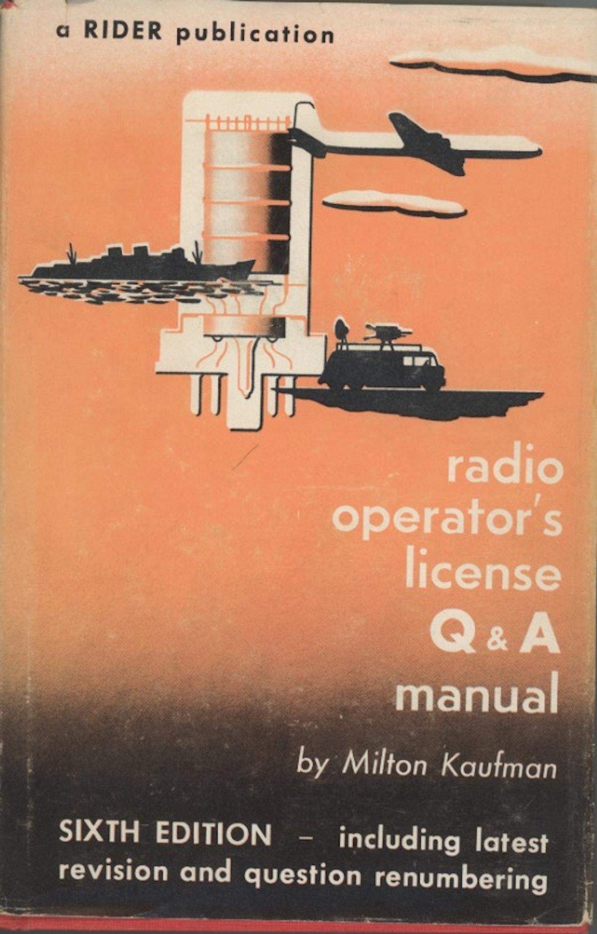 Radio Operator's License Q&A Manual