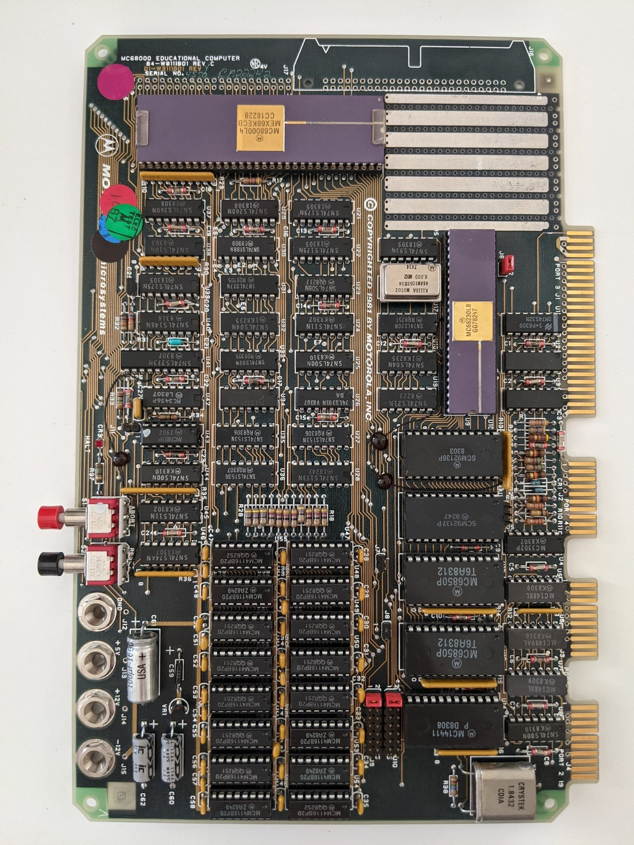 MC68000 Educational Computer